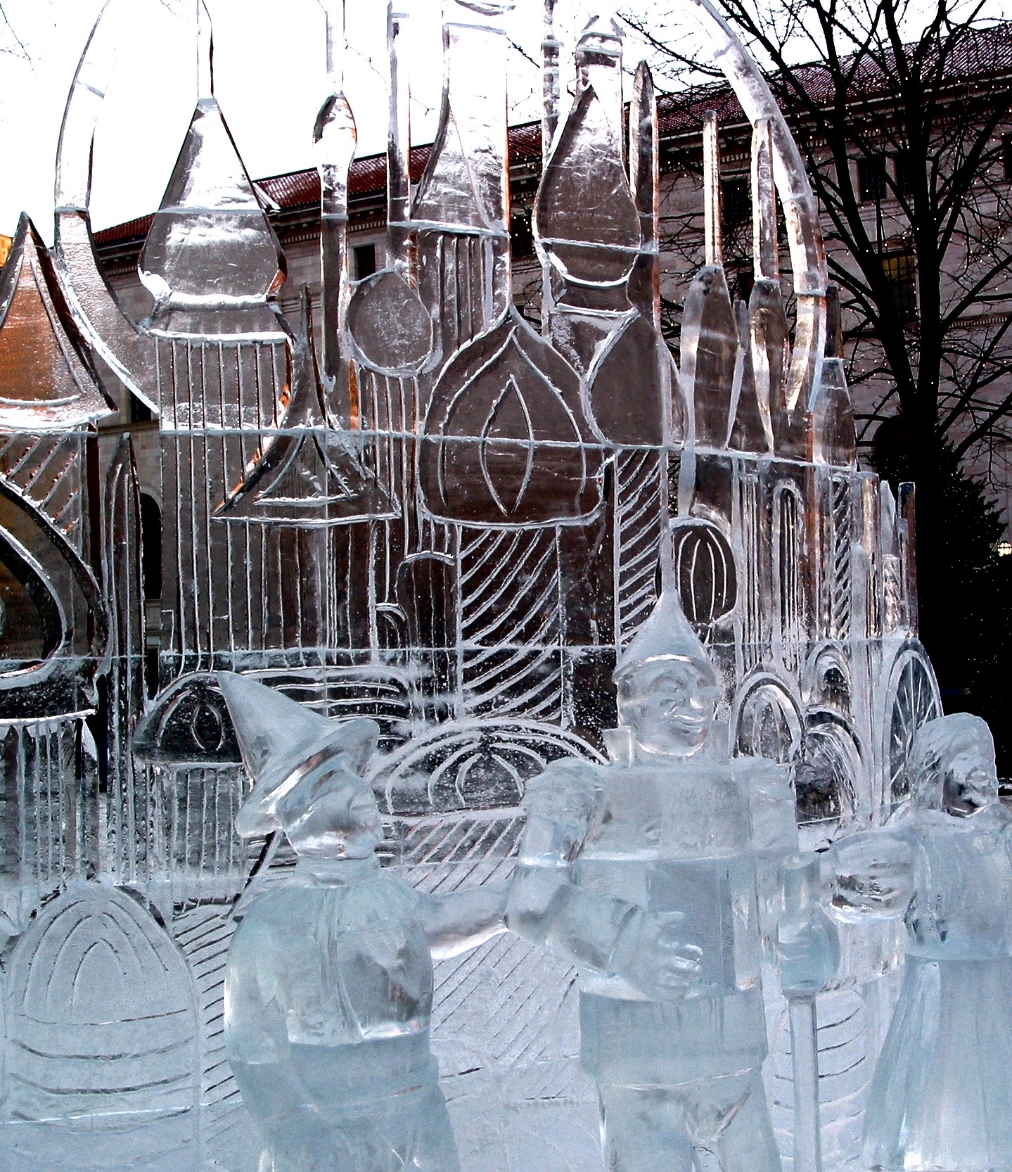 Baumer Ice Sculpture